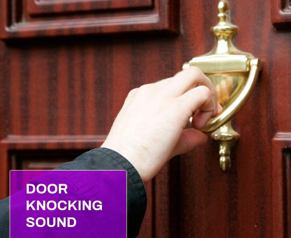 Door Knocking Sound