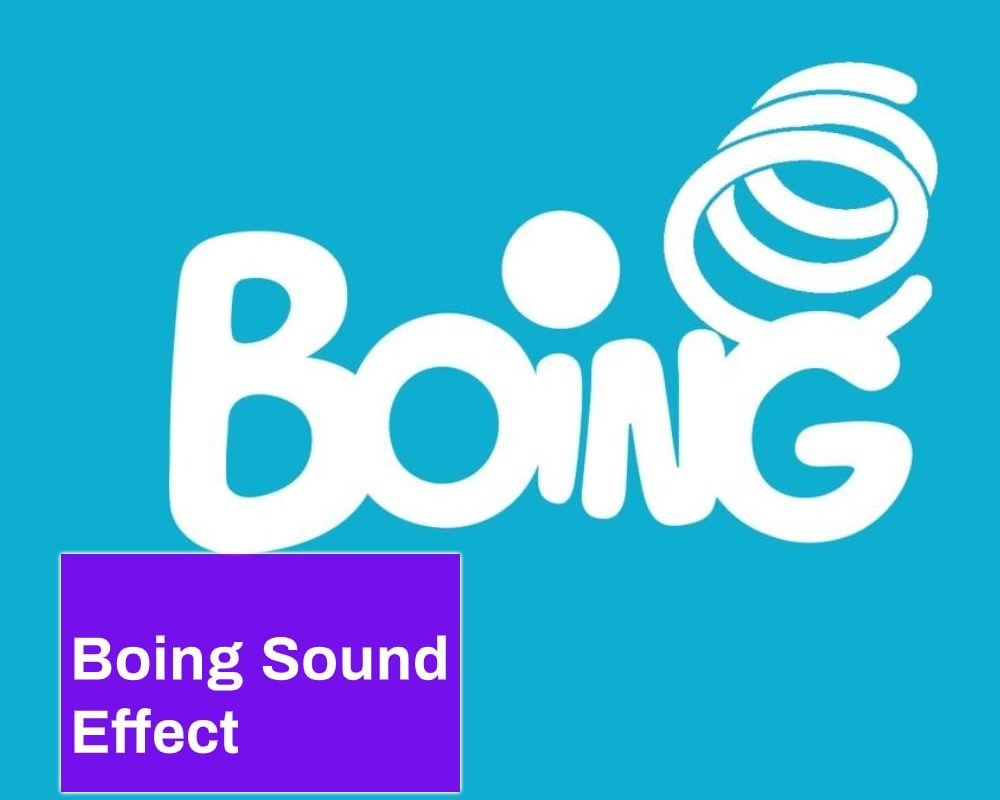 Boing Sound Effect