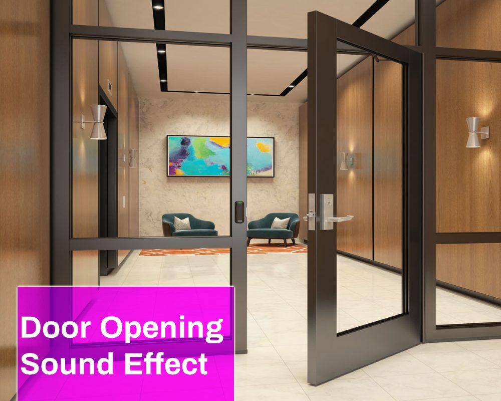 Door Opening Sound Effect