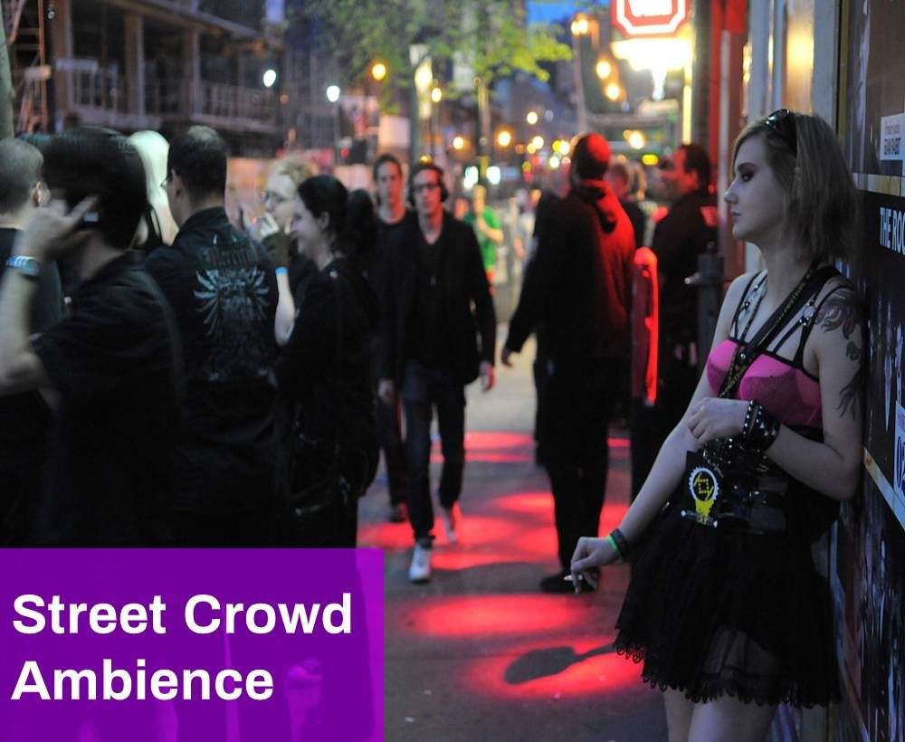 Street Crowd Ambience