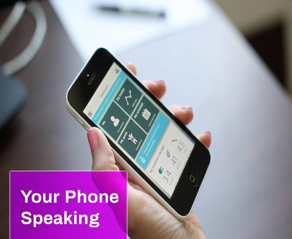 Your Phone Speaking