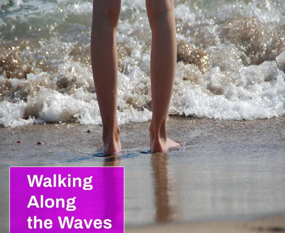 Walking Along the Waves