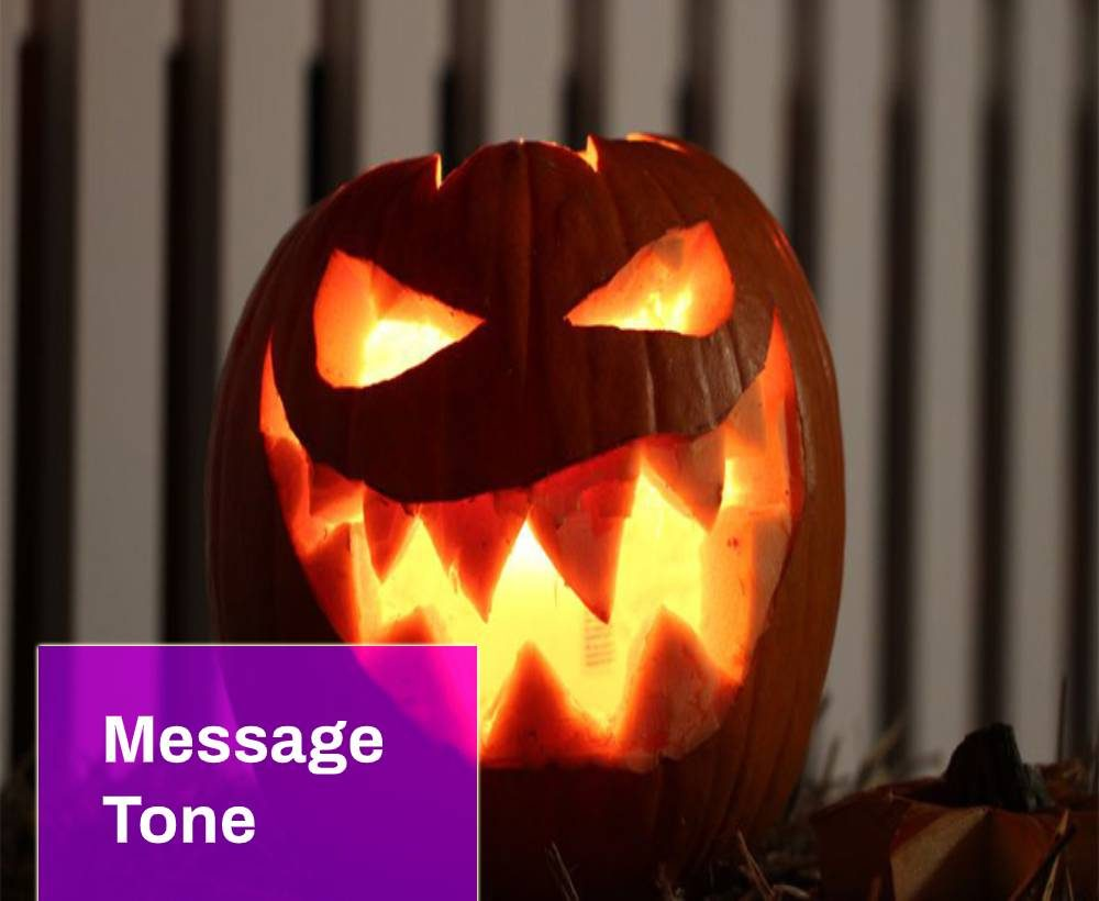 Halloween sms
