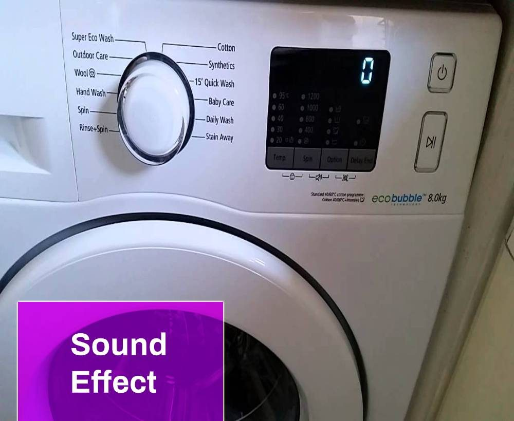 Washing Machine Sound