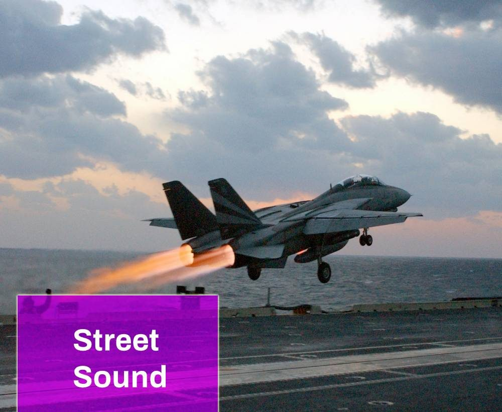 Military Plane F-14