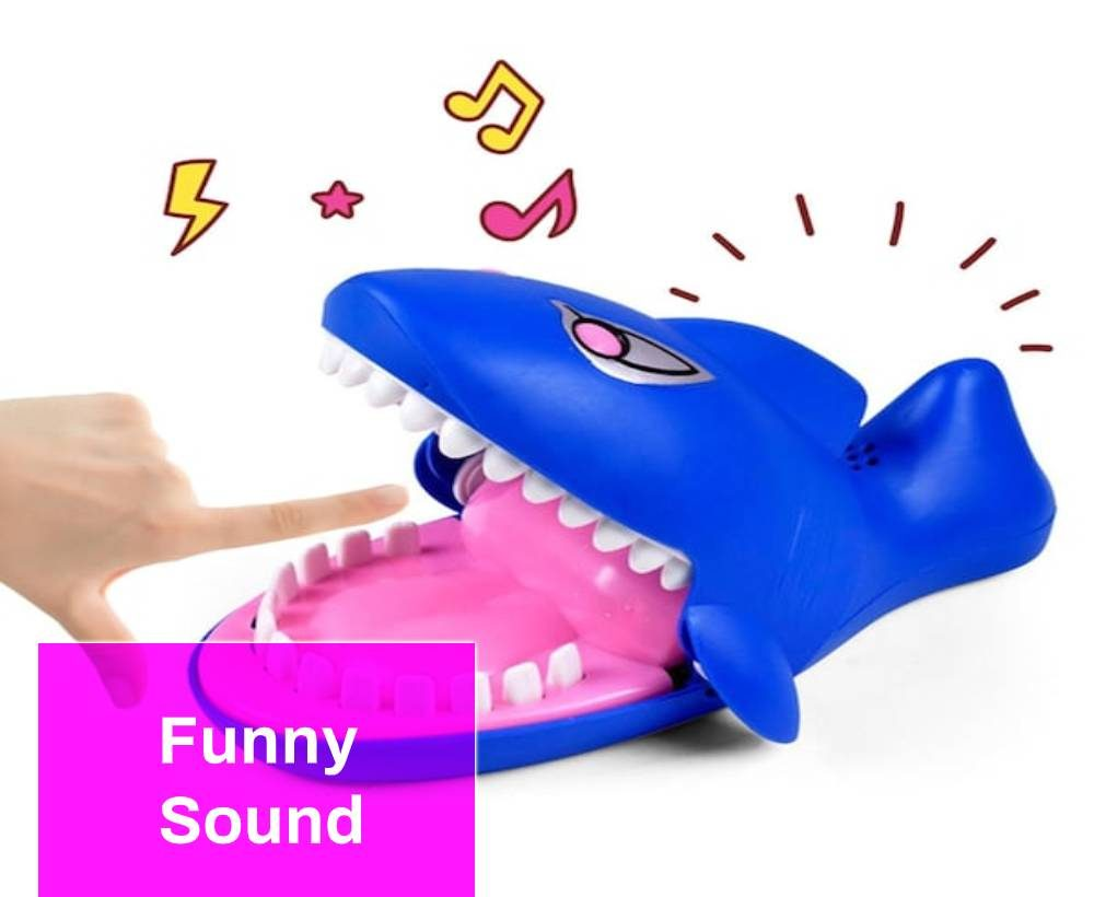 the sound of a jaw with teeth