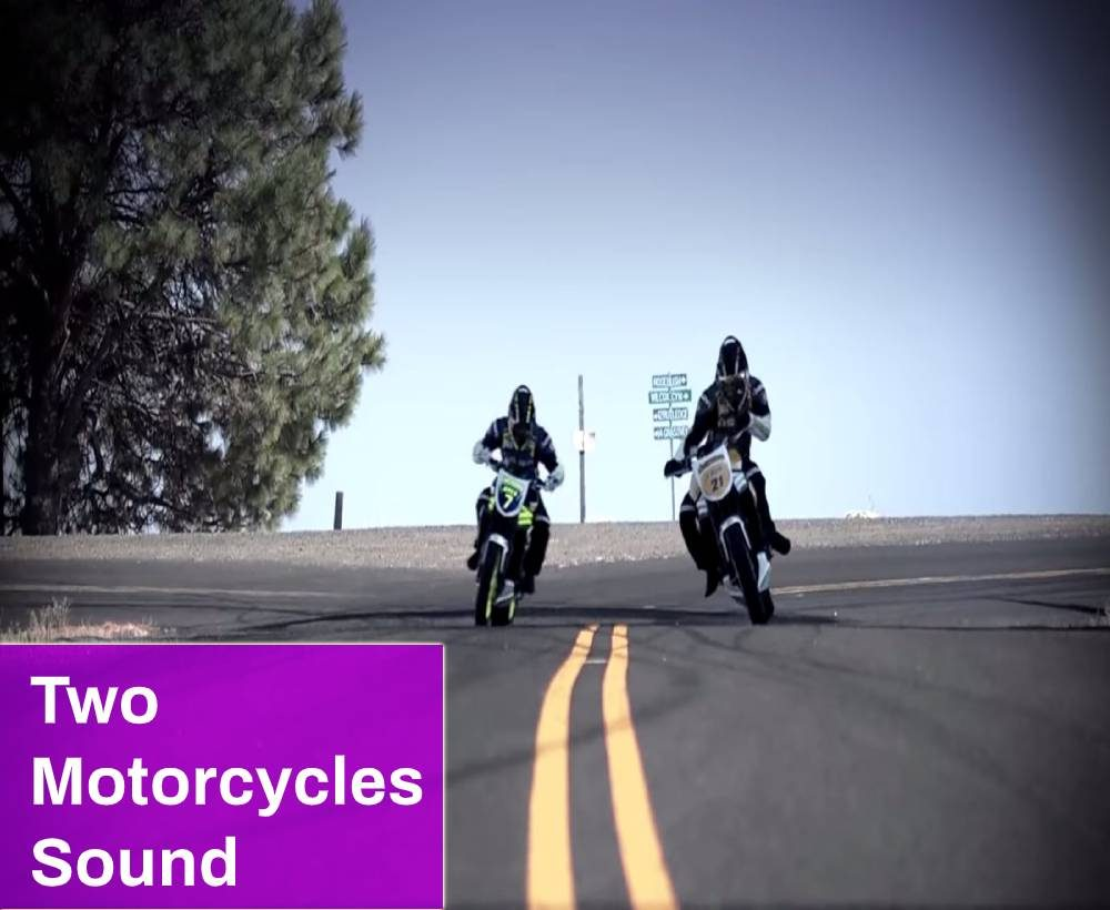 Two Motorcycles Sound
