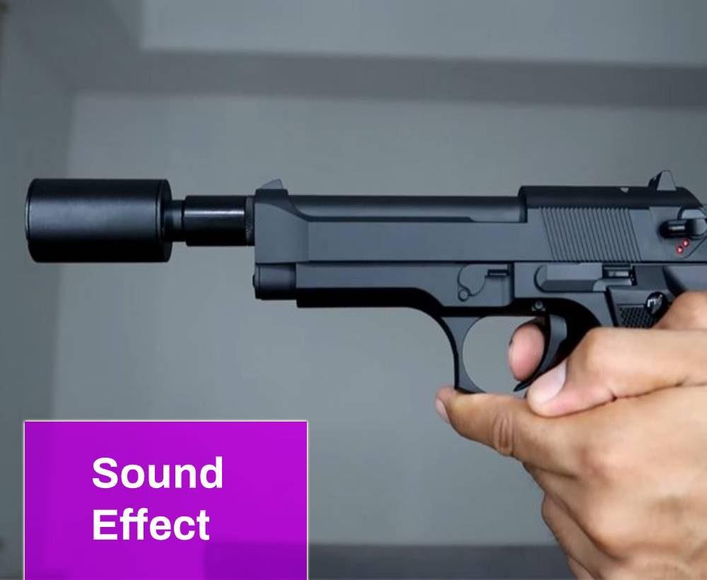 Gun (Silenced) Sound
