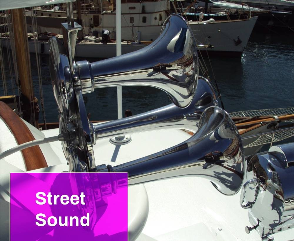 Boat horn sound