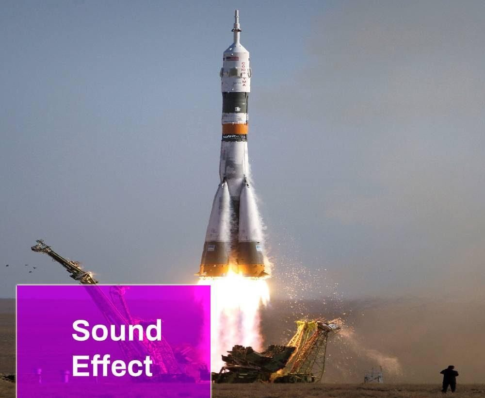 Rocket firing sound