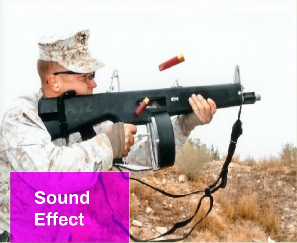Weapons AA-12 Firing Sound