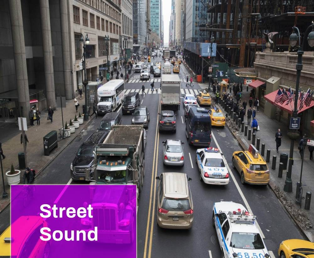 Street Traffic Sound Effect