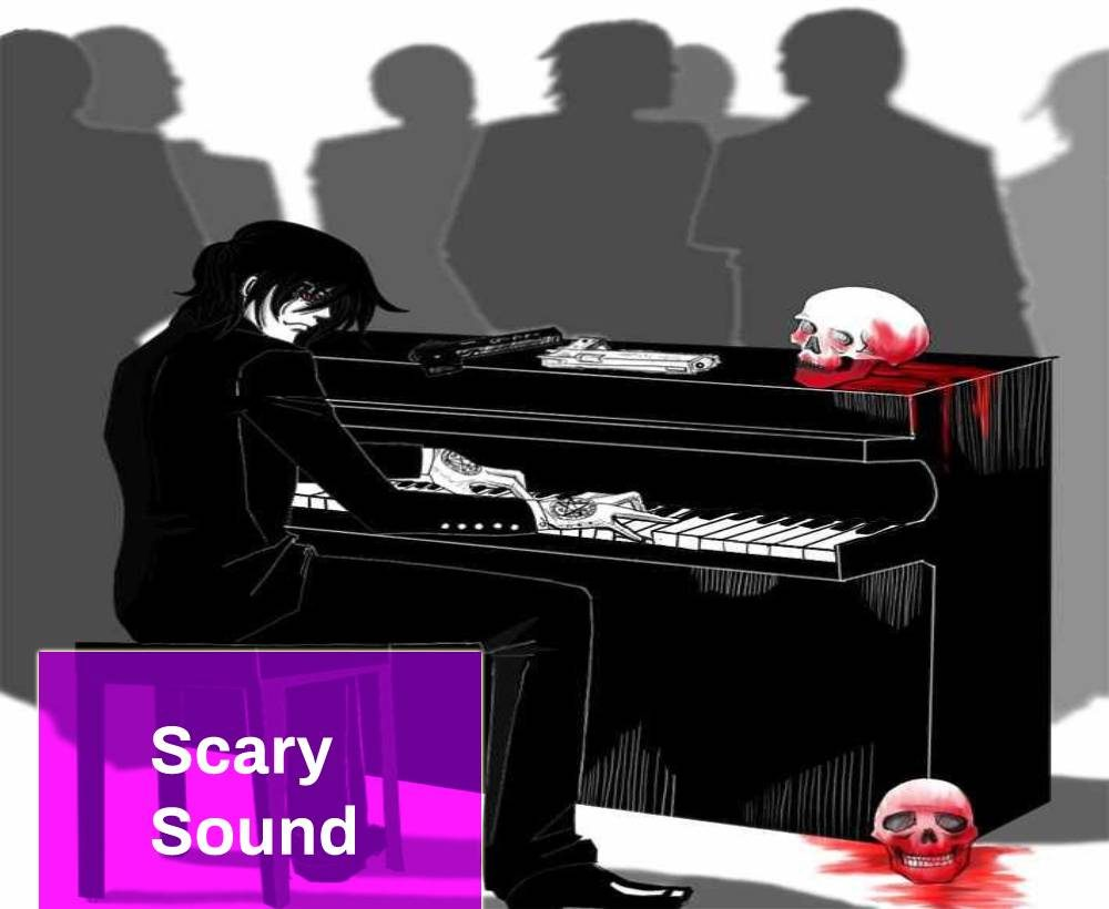 Scary Piano In Night
