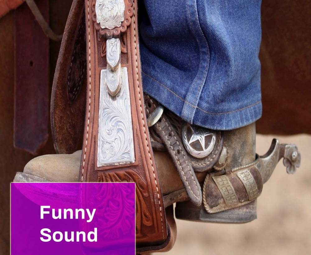 Cowboy With Spurs Sound