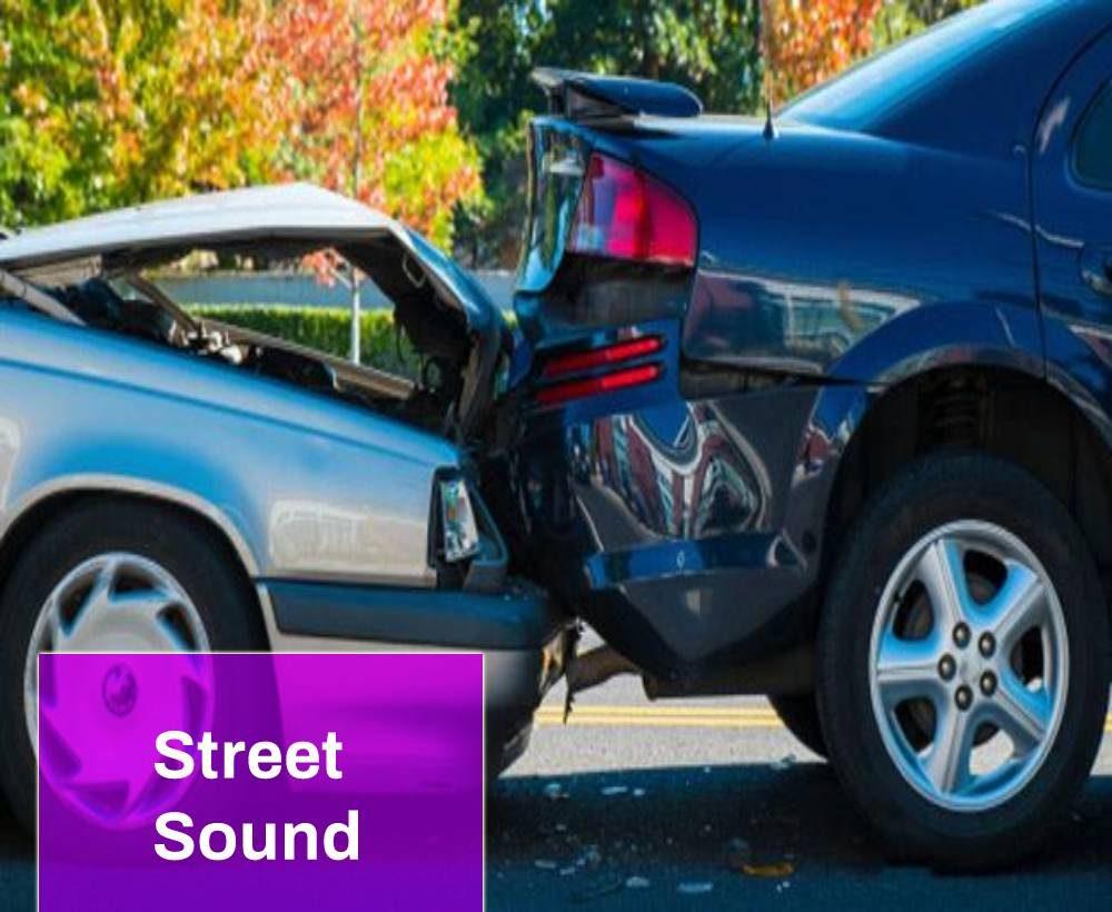 Car Brake Crash Sound