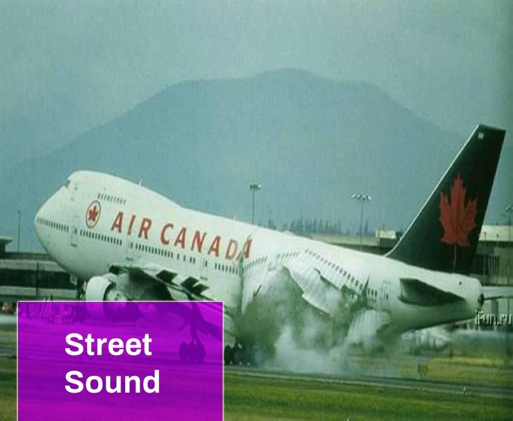 747 Jet Crash Sound