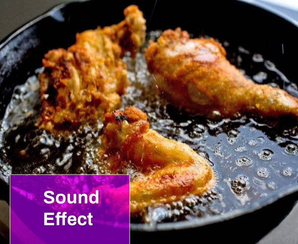 Frying Chicken Sound