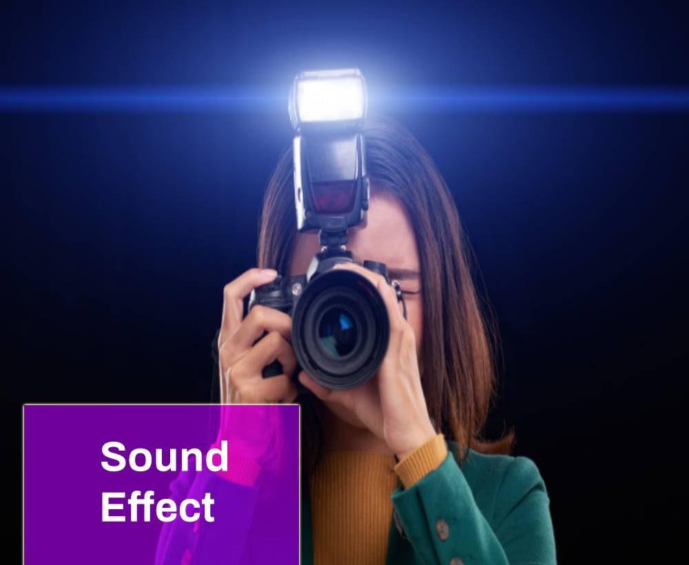 Camera Flash Sound
