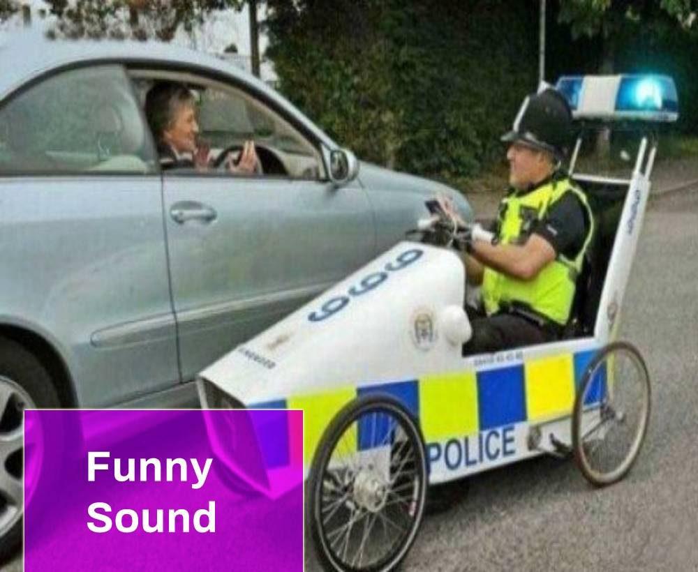 Police Car Funny Sound Effect