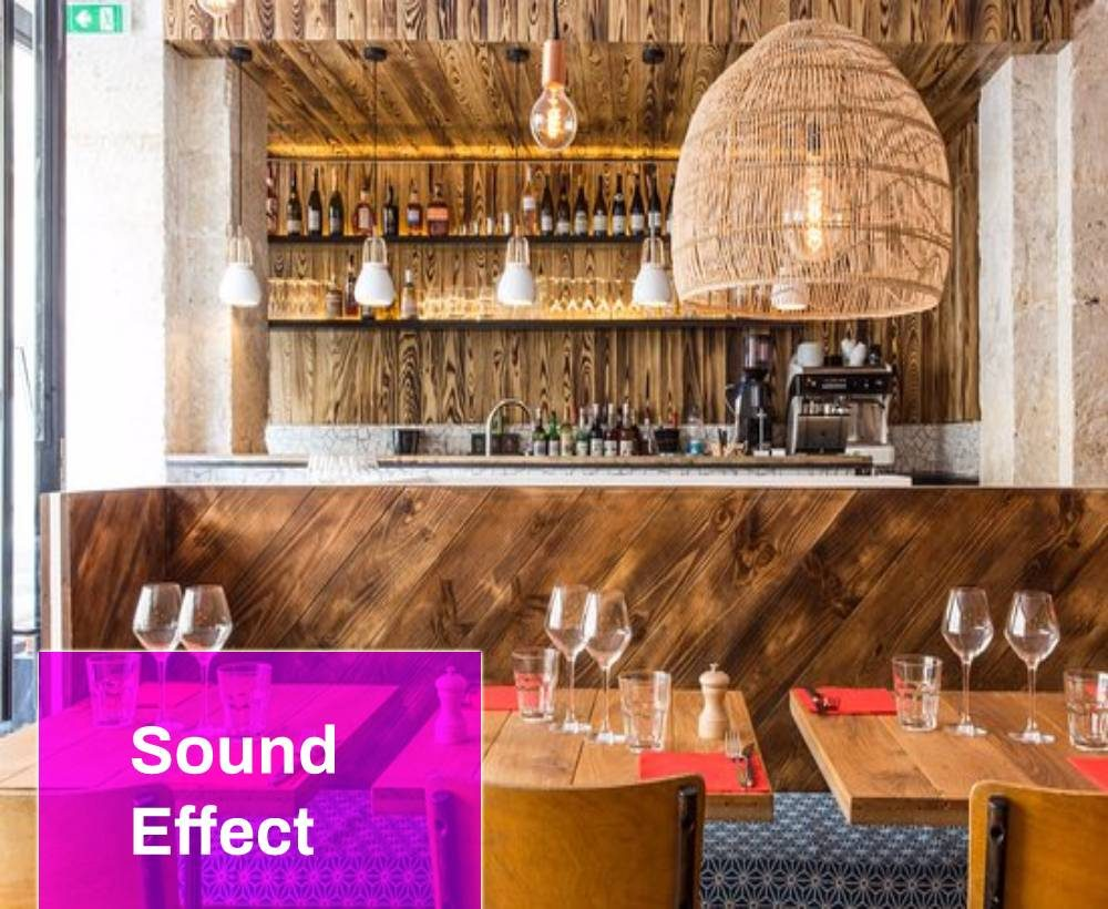 French Cafe Pigalle Sound Effect
