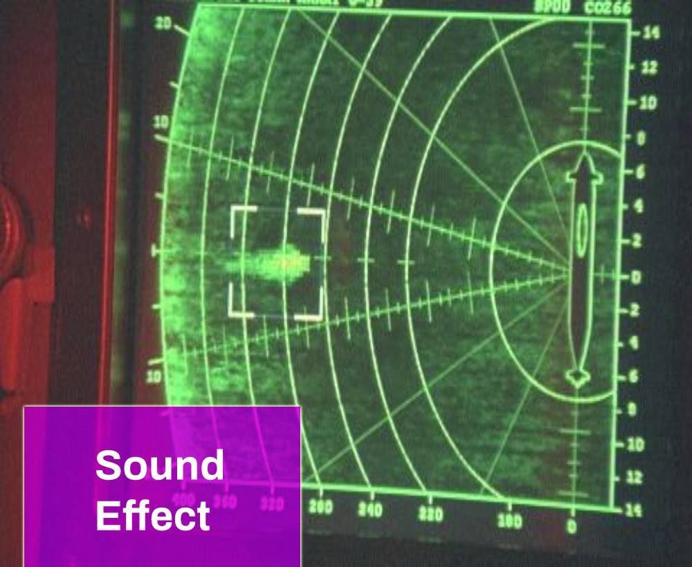 Old Sub Sonar Sound
