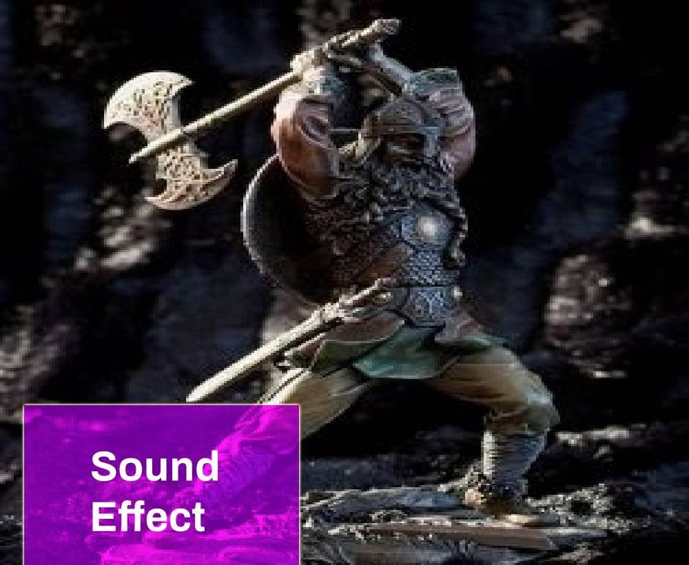 Battle Axe Swing Sound Effect