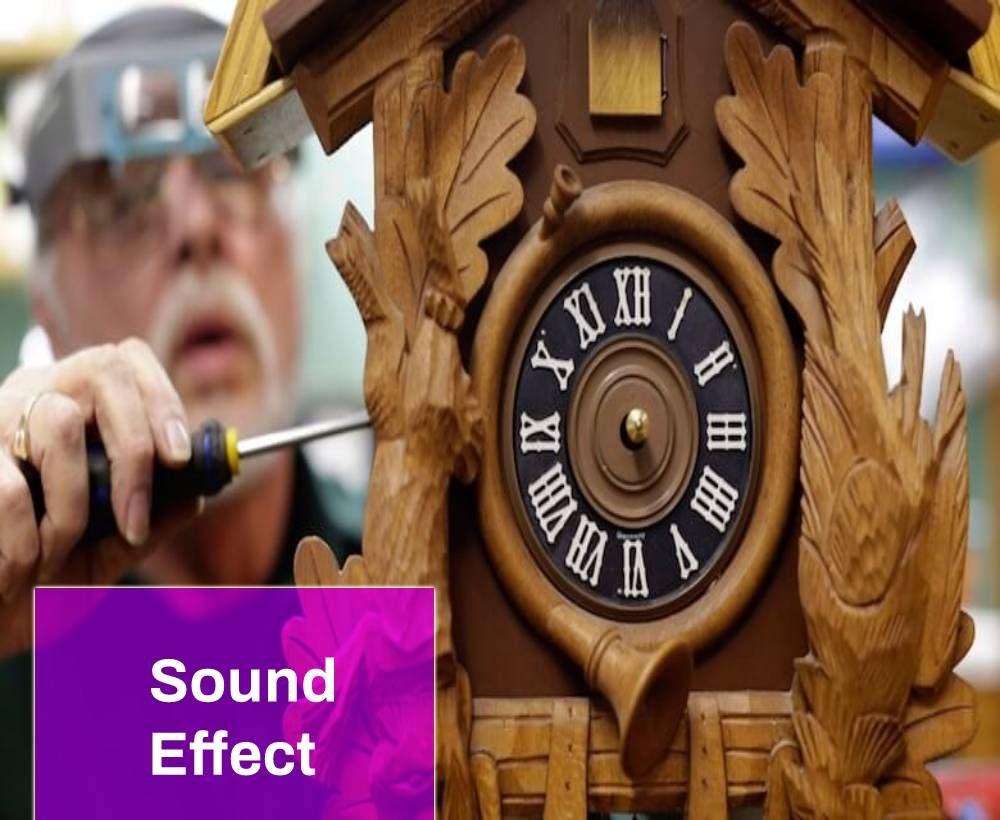 Winding up Cuckoo Clock