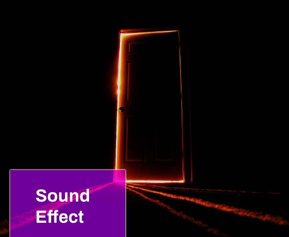 Scary Door Sound