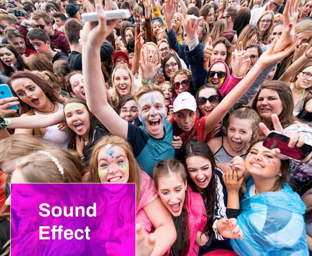 Teenage Crowds Sounds Effects