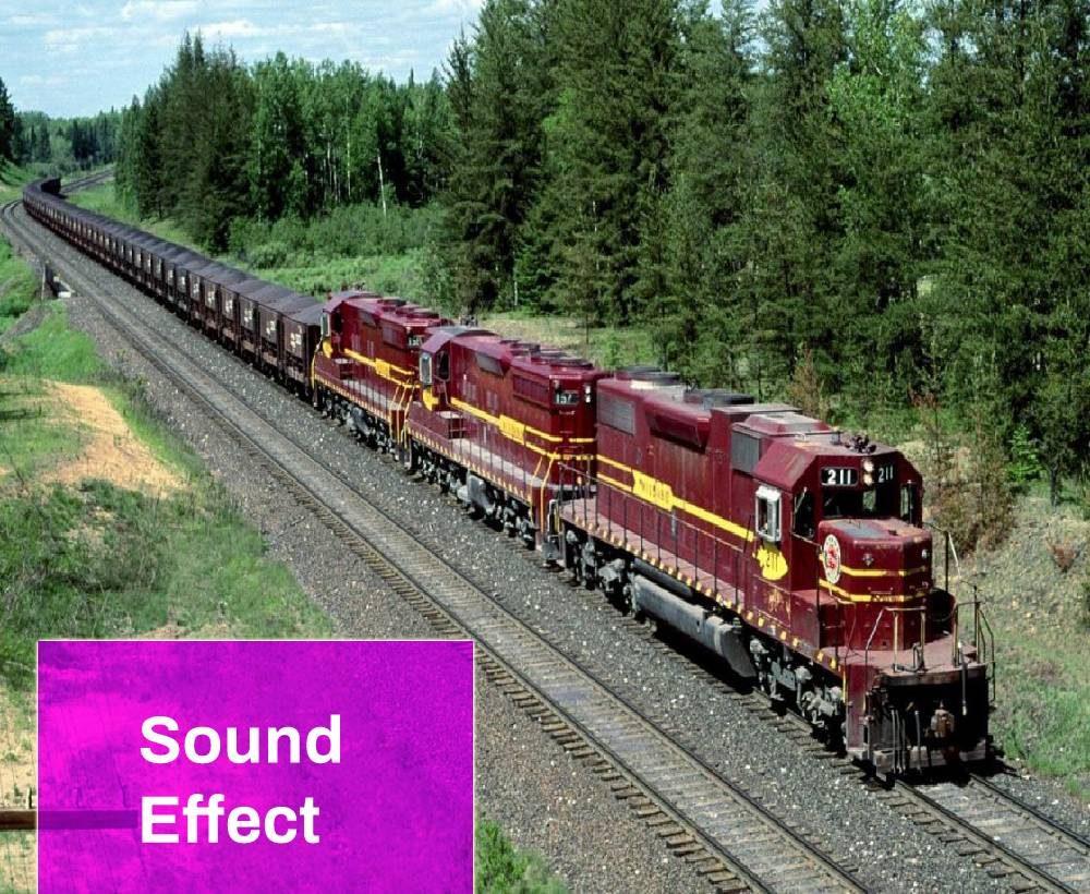 Fast Train Sound Effect