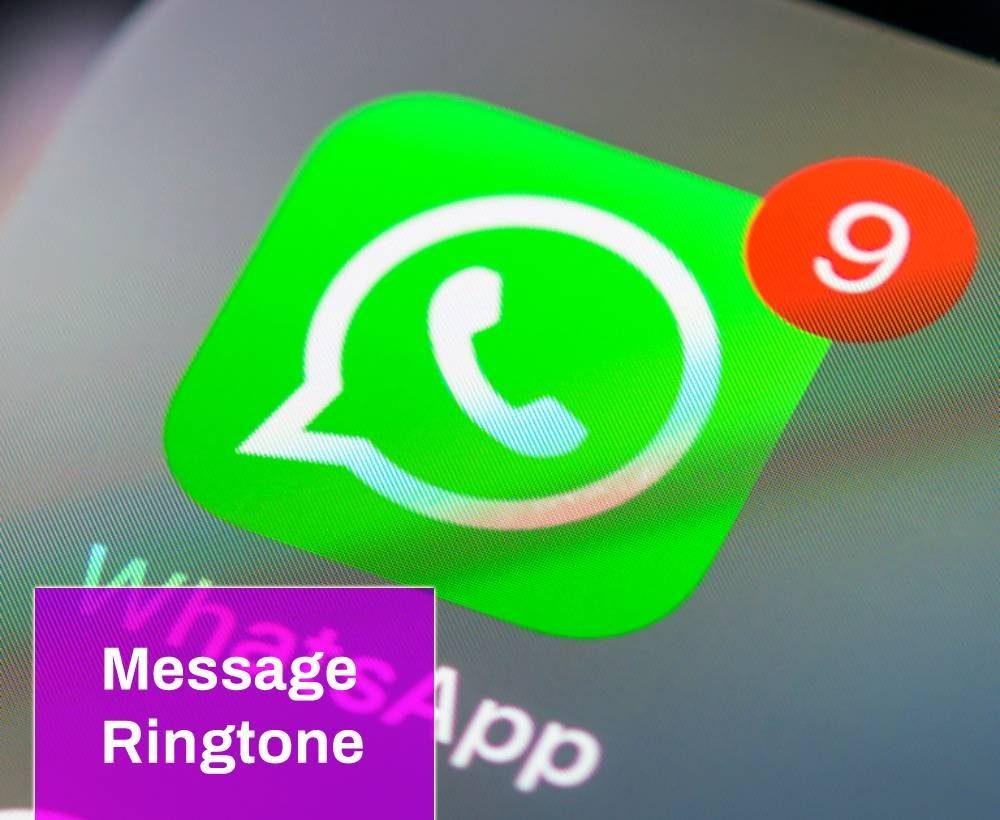 WhatsApp Message Tone
