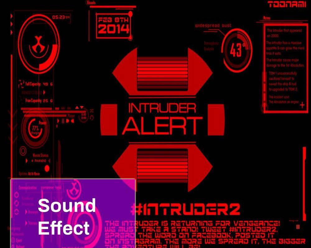 Intruder Alert Sound
