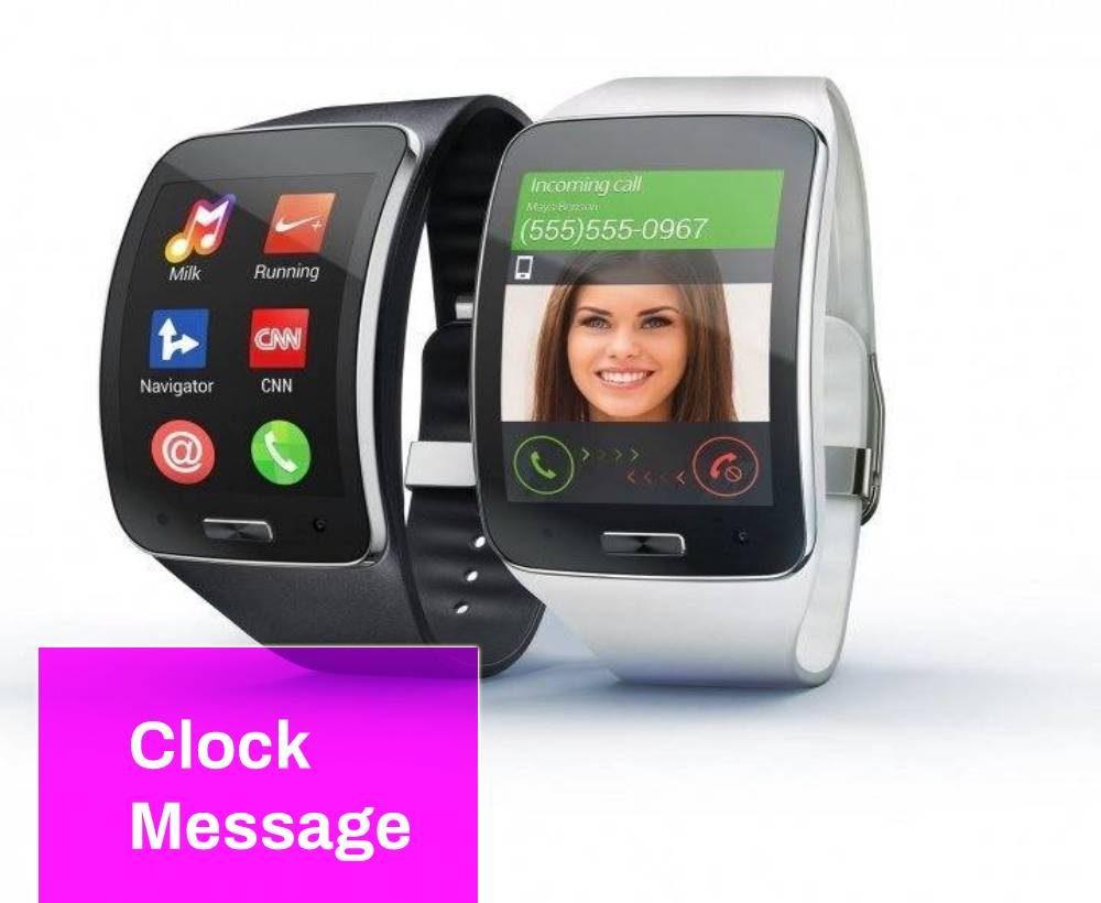 Clock Message Ringtone