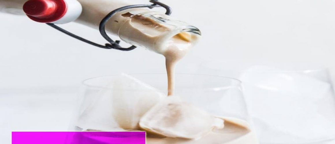 pouring whipping cream into a bowl