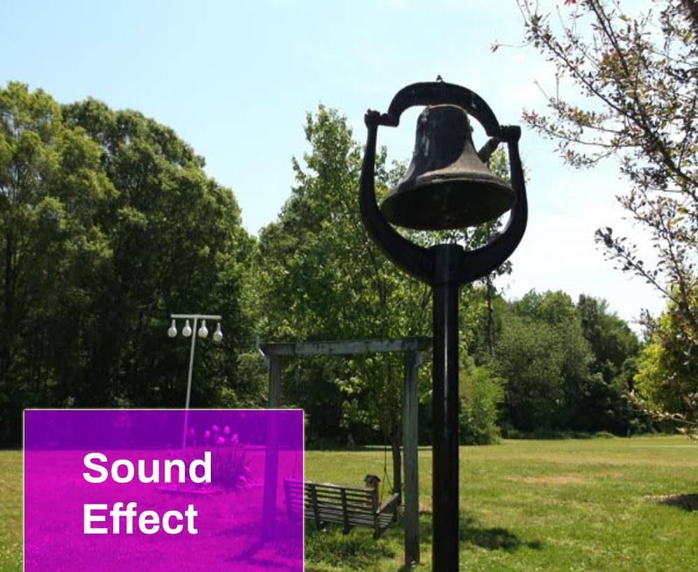 Bell ringing (Dinner time) Sound