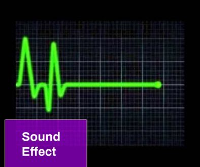 Heart Rate Monitor Flatline Sound
