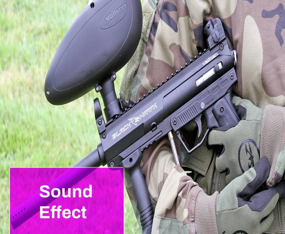 Paintball Gun Sound