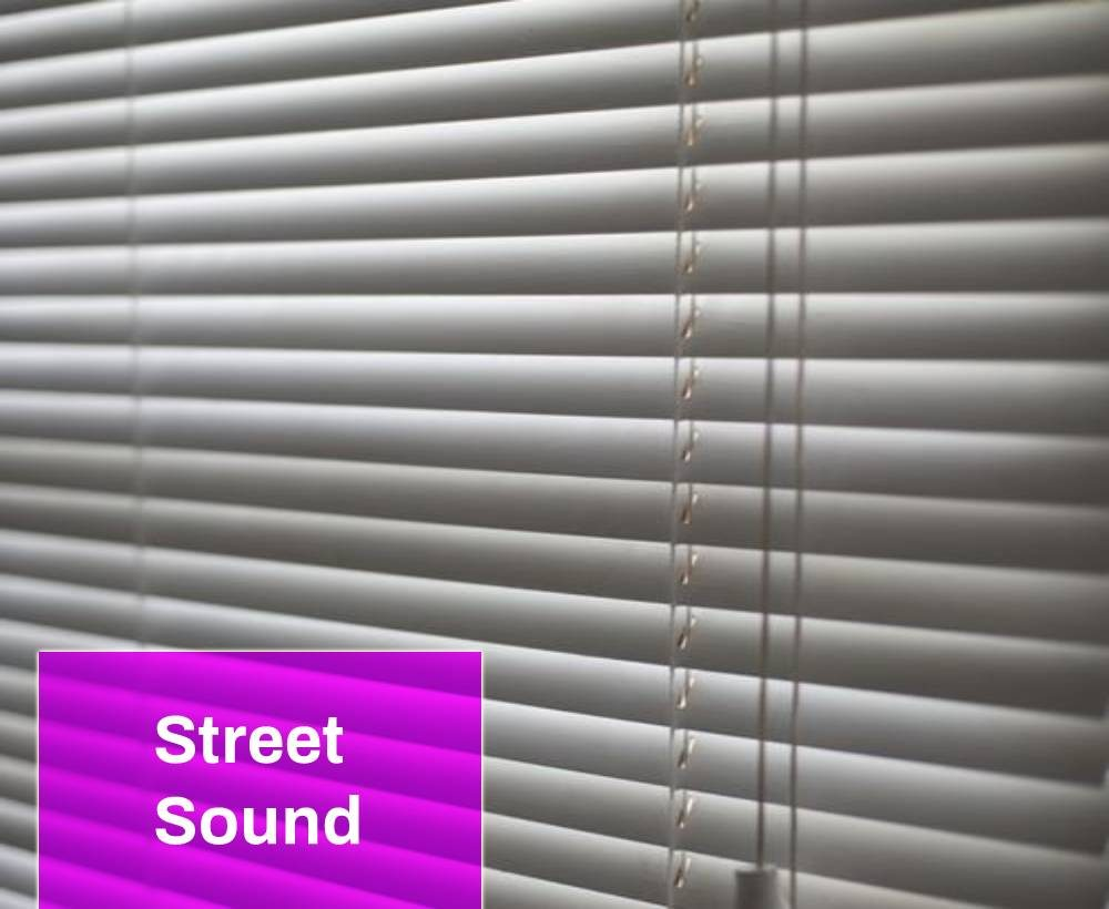 Blinds on the Window Sound