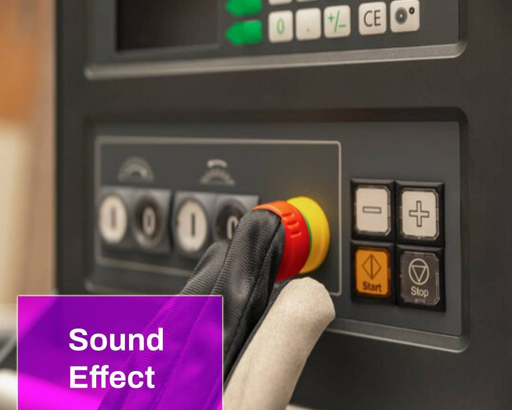 Machine Slow Shutdown Sound