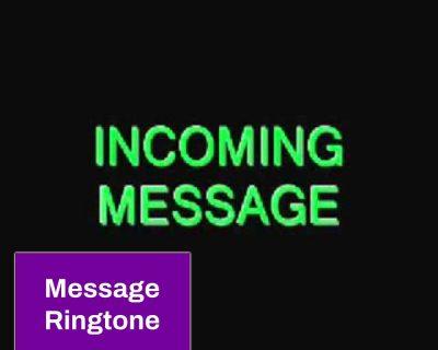 Spacious Message Ringtones